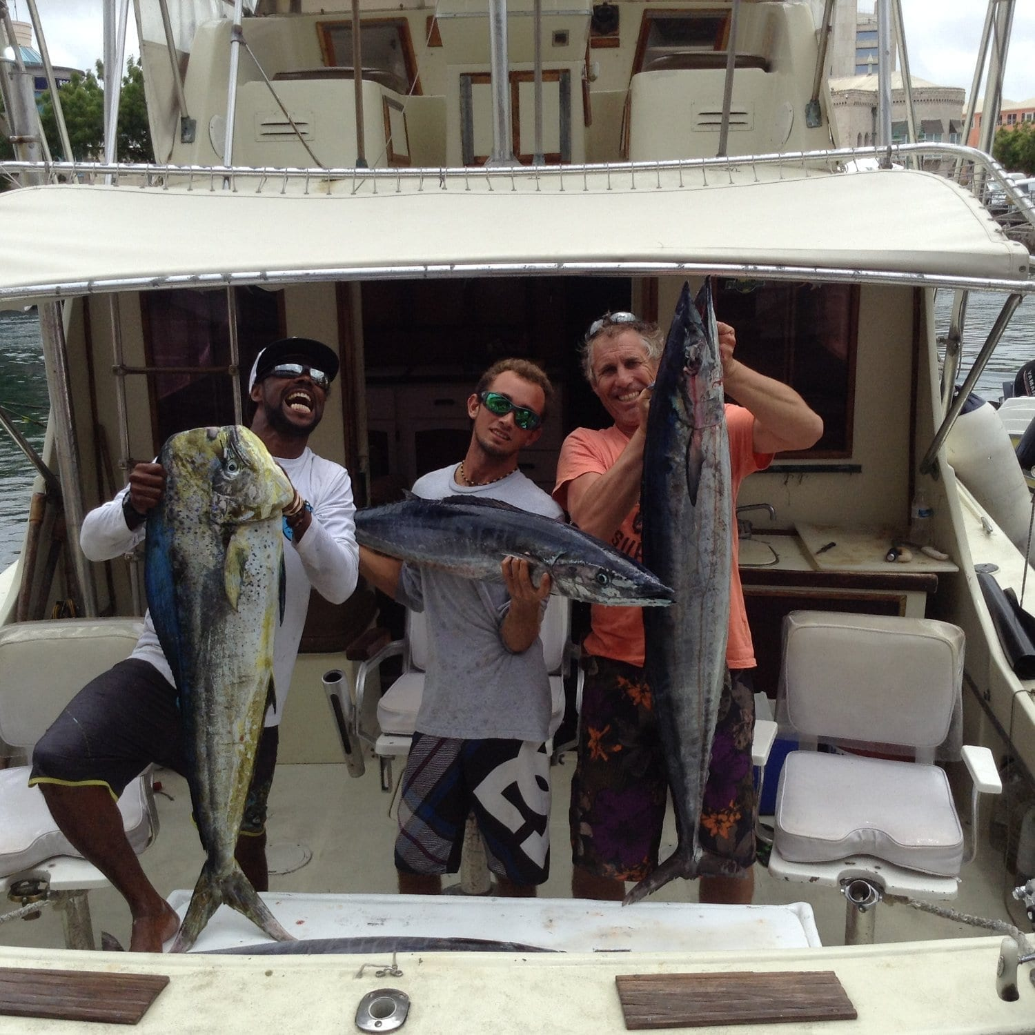Fishing in Barbados with Cannon II Fishing Charters.