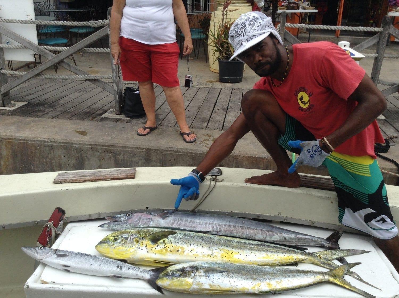 Barbados Fishing Charter on Cannon II.