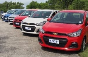 Choose a car to get around Barbados at Direct Car Rentals.