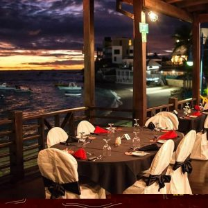 Dining View of Paulos Churrasco Do Brasil in St. Lawrence Gap.