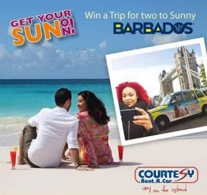 How to get around Barbados? Rent a car from Courtesy.