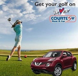 Get your golf on - Courtesy Rent A Car.