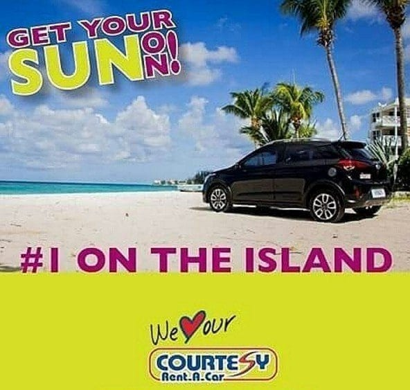 Number 1 on the Island - Courtesy Rent A Car.