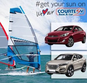 Travel around Barbados with a car from Courtesy Rent a Car.