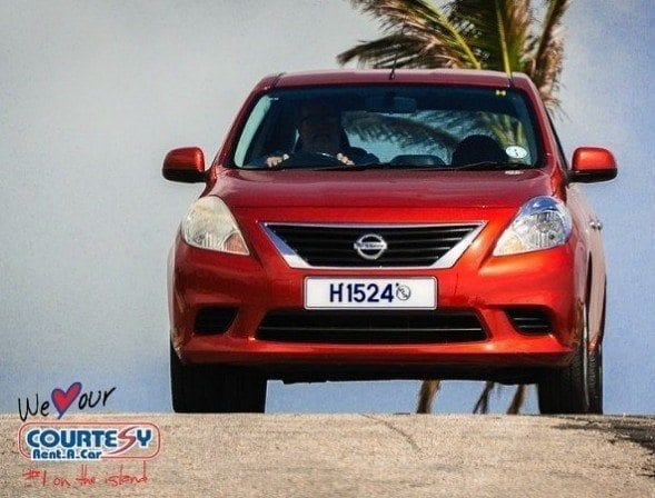 Hire A Car in Barbados with Courtesy Rent A Car.