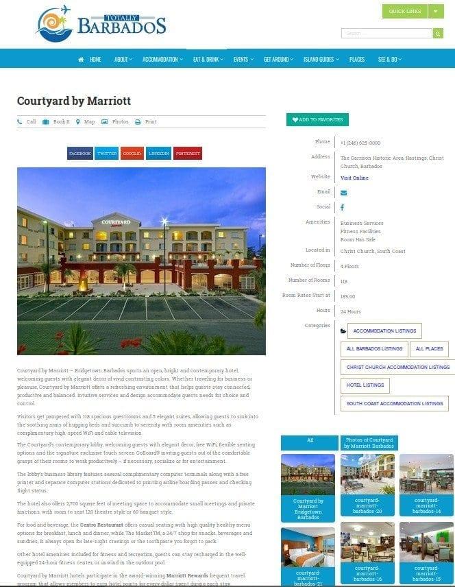 Premium Profile Page