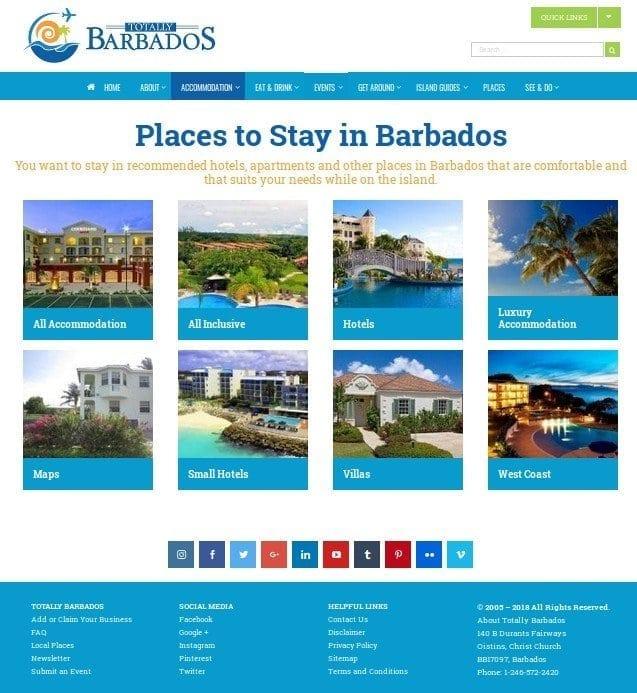 Digital Advertising on Totally Barbados