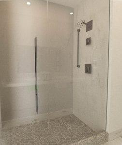 Shower -  The Abidah Hotel in Barbados.