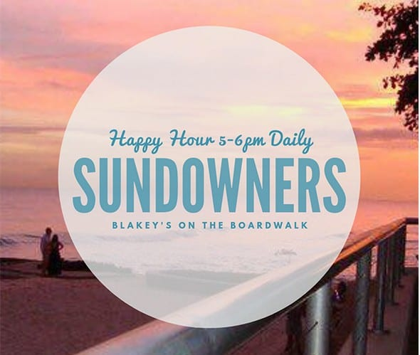 Sundowners at Blakey's