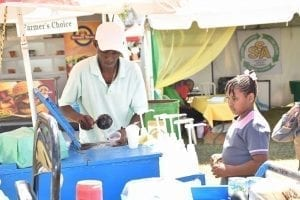 Snowcone in Barbados