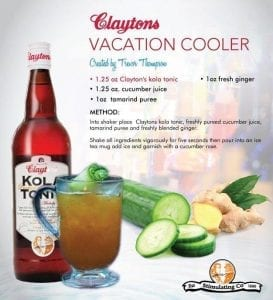 Claytons Vacation Cooler created by Trevor Thompson.