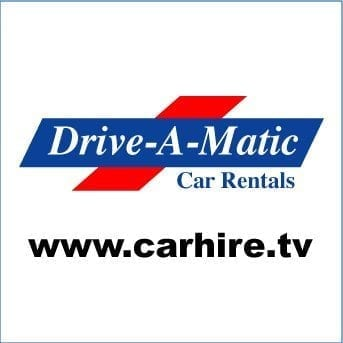 Logo of Barbados Drive-A-Matic Car Rentals.