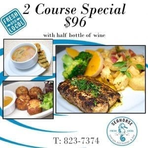 2 Course Dinner Special