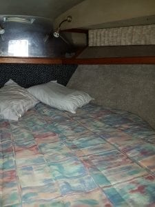 Beds and Cabins aboard Barbados Legacy Fishing Charters.