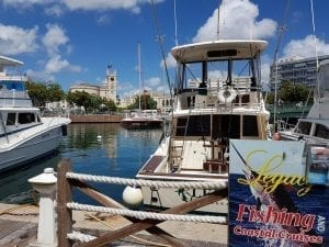 Careenage in Bridgetown where you will find Legacy Fishing Charters in Barbados.