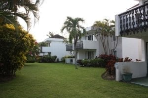 Barbados apartments in tranquil gardens.
