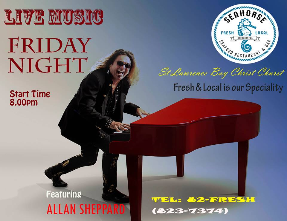 Alan Sheppard Live on the Red Piano
