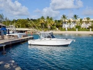 Go fishing on Betsy B Fishing Charters, a 27ft Albemarle Sports Fisherman in Barbados.