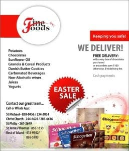 Fine Food Easter Sale Delivery