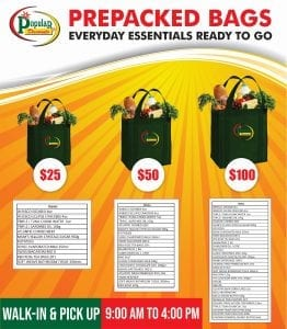 Popular Discounts Prepackaged Bags
