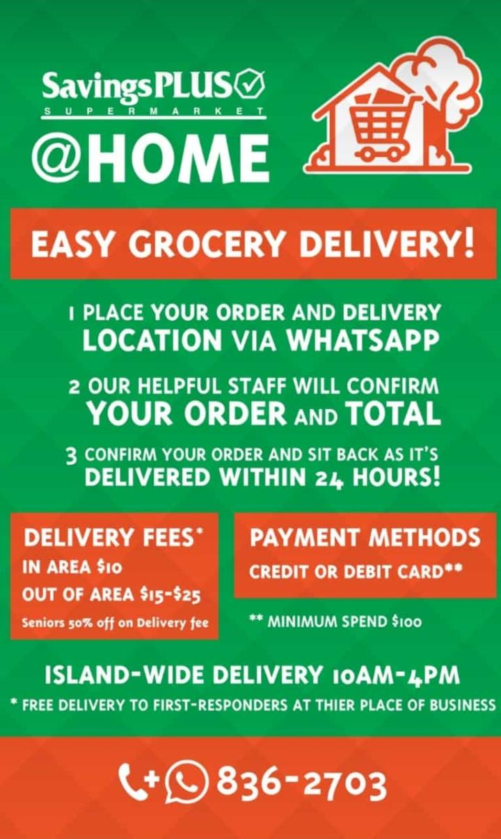 Savings PLus Supermarket Grocery Delivery