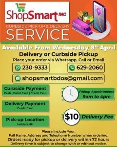Shop Smart Curbside Pickup and Delivery