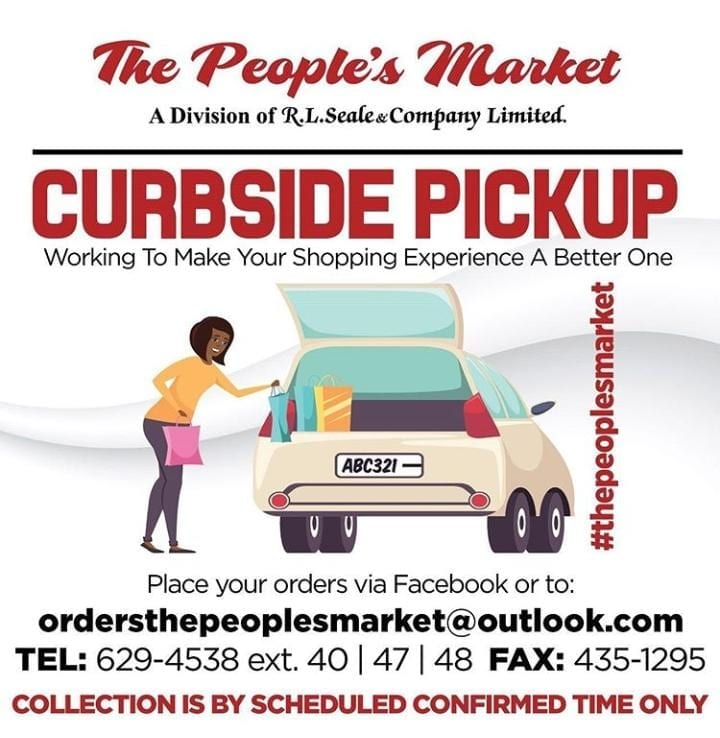 The People's Market Curbside Pickup