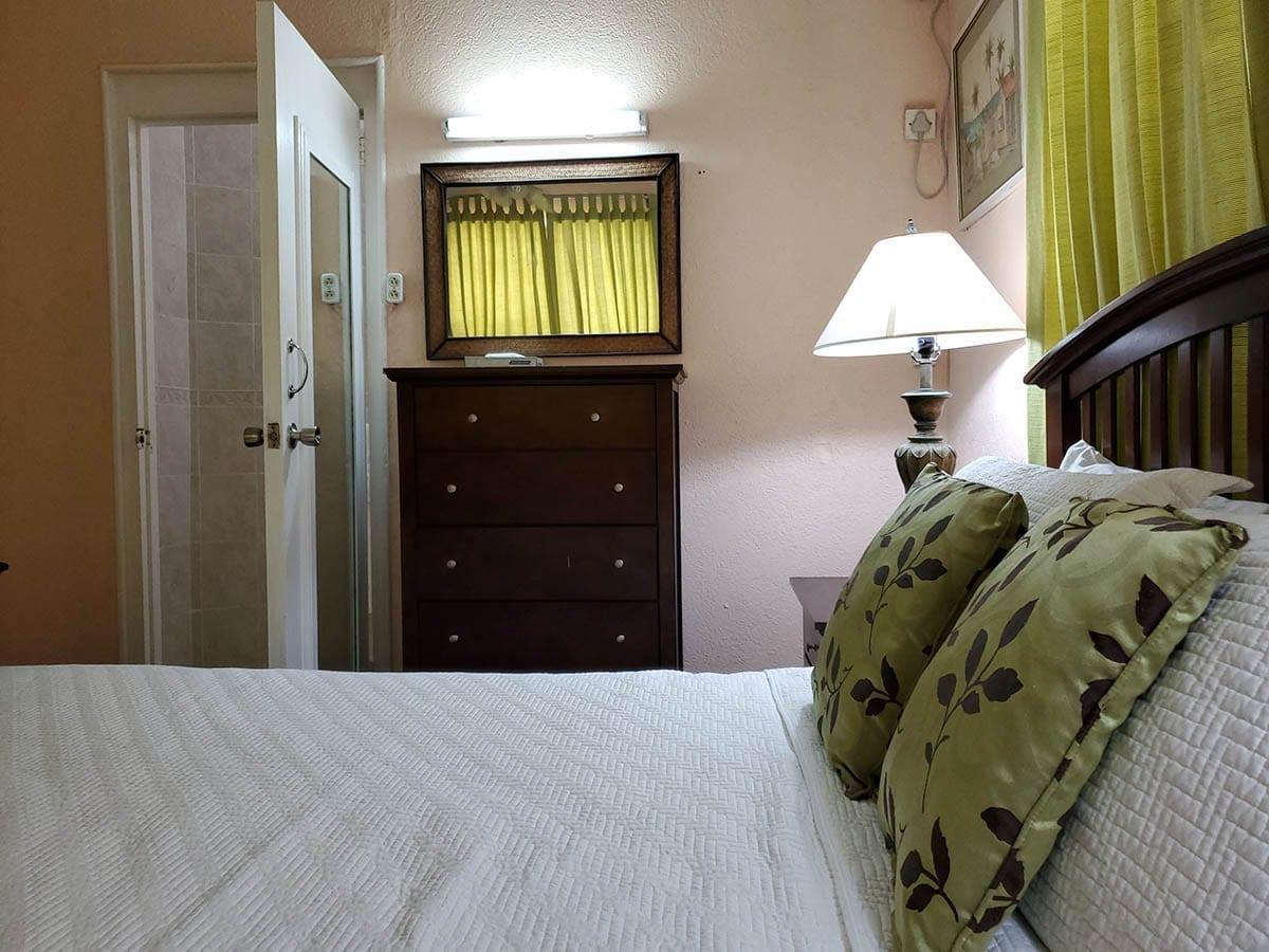 Master Bedroom at Culpepper Island Apartment